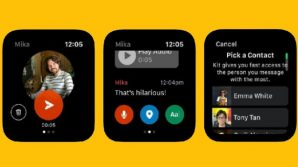 Messenger: in roll-out lo spin-off Facebook Kit, per chattare su Apple Watch