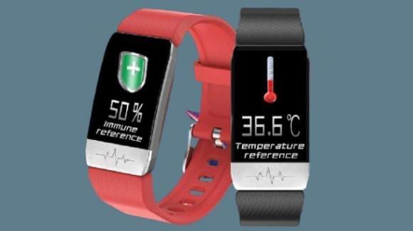 Baakey T1: in promo la smartband che misura anche la febbre