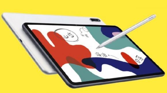 MatePad 10.4: ufficiale il nuovo tablet di Huawei, con 2K e maxi batteria