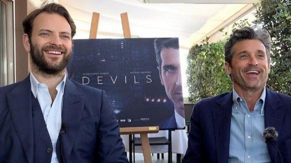 Diavoli, Alessandro Borghi parla del rapporto con il collega Patrick Dempsey