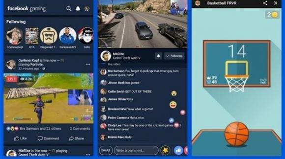 Facebook Gaming: ufficiale l'app rivale di YouTube Gaming, Twitch e Mixer