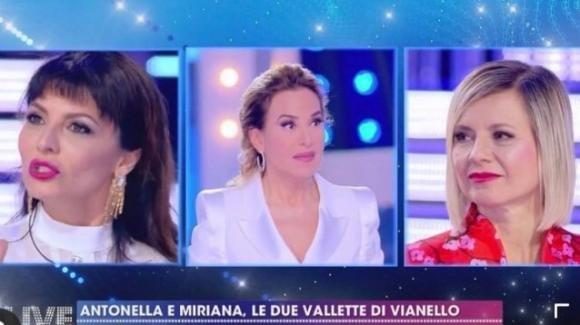 Live – Non è la D'Urso, Miriana Trevisan scrive un post su Barbara D'Urso e Antonella Elia