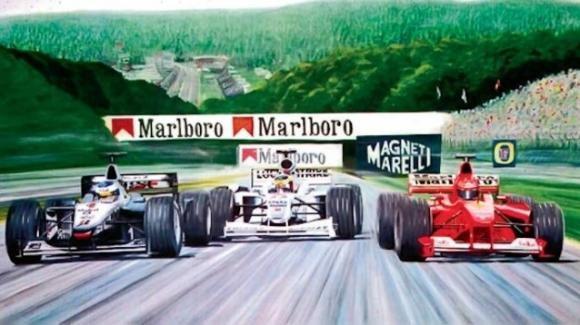 Michael Schumacher e l'inedito dettaglio sullo storico sorpasso subito da Mika Hakkinen a Spa