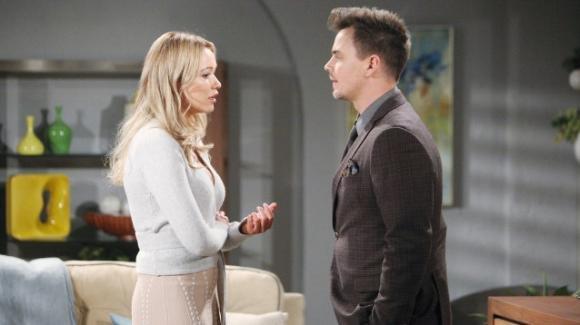 Beautiful, anticipazioni americane: Flo confessa a Wyatt la verità sull'adozione di Phoebe e una persona è in ascolto