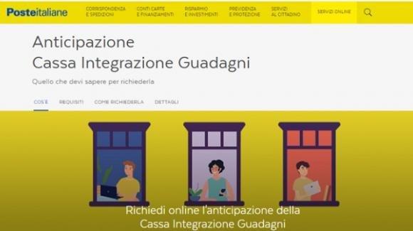 Cassa Integrazione: l'anticipo possibile anche da Poste Italiane. Ecco come richiederlo