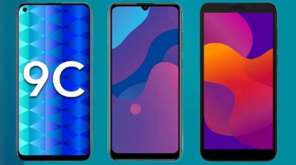 Honor 9A, Honor 9C ed Honor 9S: dalla Russia gli smartphone low cost dello spin-off di Huawei