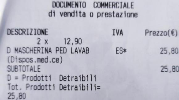 "Brescia: 25 Euro per due mascherine per bimbi. Protesta di una mamma: ""È uno schifo"""
