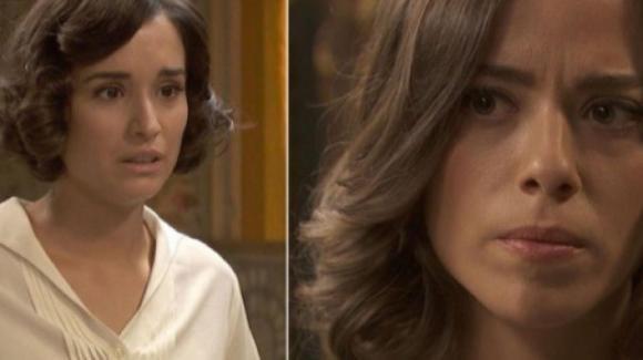 Il Segreto, anticipazioni spagnole: Rosa scopre che Marta e Adolfo si sono baciati!