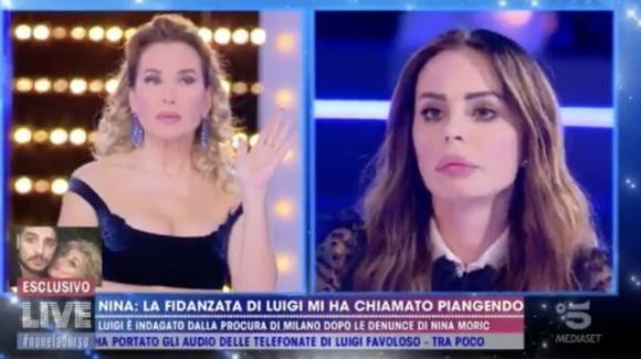 Live – Non è la D'Urso, Nina Morić accusa Luigi Mario Favoloso: minacce a Elena Morali
