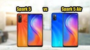 Tecno Spark 5 e Spark 5 Air: presentati i battery phone low cost con maxi display HD+
