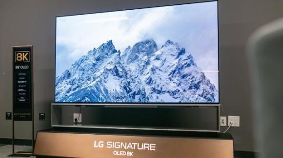 Smart TV LG: presentata anche la OLED TV 8K più grande al mondo