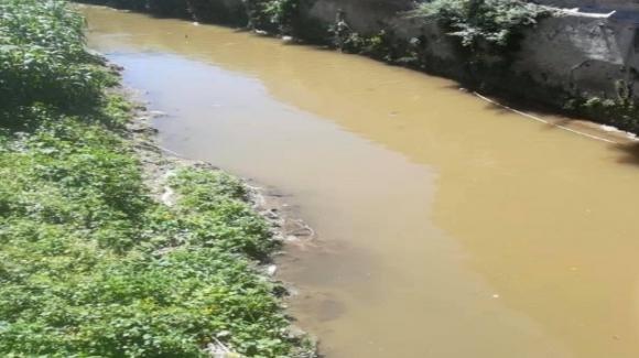 Con l'inizio della fase 2 il fiume Sarno è già inquinato
