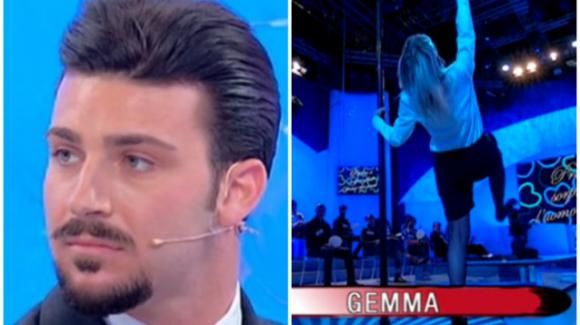 U&D, Gemma Galgani si lancia in una lap dance: la reazione di Sirius crea sospetti