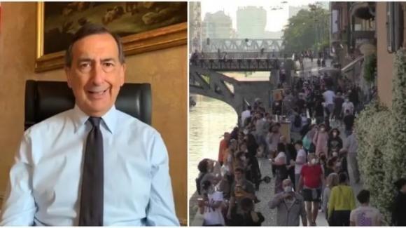 Fase Due a Milano: folla davanti ai locali ed il sindaco si infuria, minacciando un nuovo lockdown