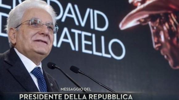 """La lettera di Sergio Mattarella durante i """"David di Donatello"""": """"Per ricostruire l'Italia bisogna ritornare a sognare"""""""