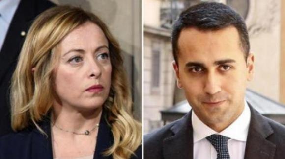"""Giorgia Meloni contro Luigi Di Maio: """"Non ci servono i suoi appelli per lavorare per il bene della Nazione"""""""