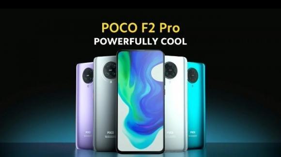 Poco F2 Pro: ufficiale il top gamma accessibile, con Snap 865, quadcam e 5G