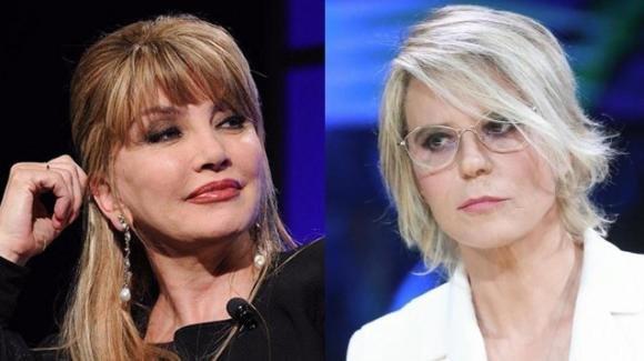 Milly Carlucci infastidita dai programmi di Maria De Filippi