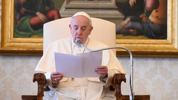 """Papa Francesco spiega """"la mistica del rimanere"""" in Dio"""
