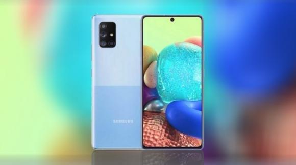 Galaxy A Quantum: Samsung ufficializza il 5G phone più sicuro al mondo