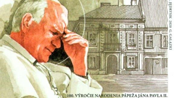 Giovanni Paolo II: omaggiato a cento anni dalla nascita anche con i francobolli europei