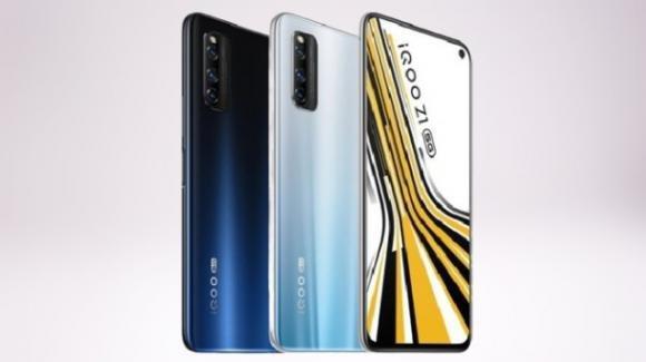 iQOO Z1: ecco il gaming phone con 5G e processore MediaTek Dimensity 1000+