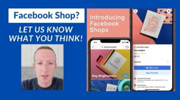 Facebook Shops, Live Shopping e programmi fedeltà: da Menlo Park a supporto delle aziende