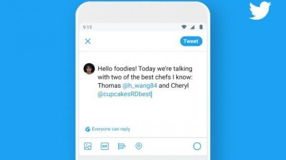 Twitter: fa capolino l'opzione per stabilire chi può rispondere ai tweet