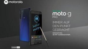 Moto G Pro: arriva in Europa lo smartphone con pennino by Motorola/Lenovo