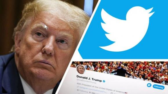 """Twitter: """"Trump pubblica contenuti fuorvianti"""". La risposta di Trump: """"Twitter sopprime la libertà di parola"""""""