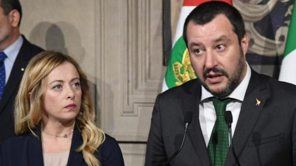 """Giorgia Meloni parla del presunto accordo tra Matteo Salvini e Matteo Renzi: """"Spero che non ci sia"""""""