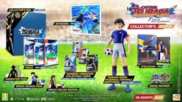 Captain Tsubasa Rise of New Champions sarà in vendita dal 28 Agosto