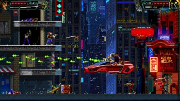 """""""Huntdown"""" rispolvera i giochi piattaforma in due dimensioni con l'intramontabile stile della pixel art"""