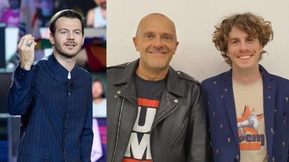 """""""Una canzone come gli 883"""", Max Pezzali e Lodo Guenzi sostengono i professionisti dello spettacolo"""