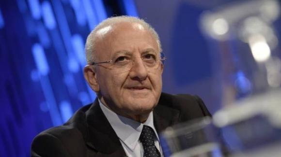"""Zero contagi in Campania, Vincenzo De Luca: """"Ringraziamo per questo primo importante momento tutti i nostri concittadini"""