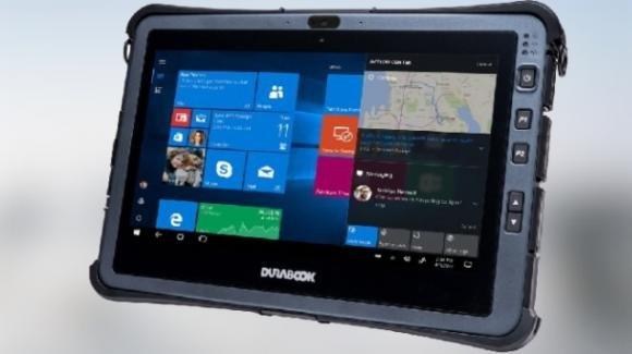 Durabook U11: ufficiale il tablet rugged con processori Intel di 10a generazione
