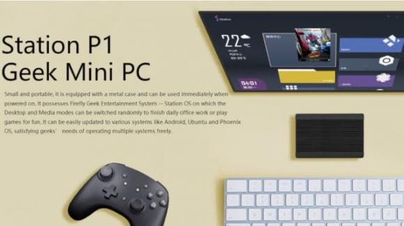 "Station P1: ufficiale il miniPC ""open"" per Linux, Android, o Station OS"