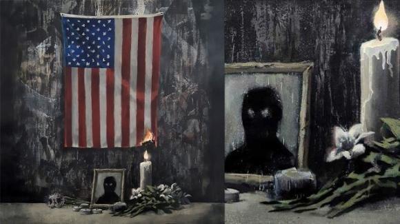 Banksy e l'omaggio a George Floyd