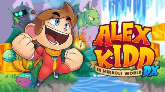 Alex Kidd in Miracle World DX: il remake del celebre platform presto su PC e consolle