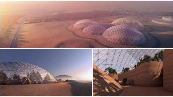 Dubai. Viene progettata una vera e propria metropoli extraterrestre: Mars Science City