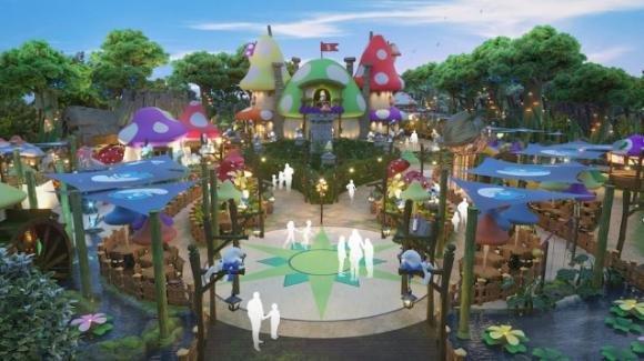 I Puffi: inaugurato un parco a tema in Cina lo scorso 29 Maggio