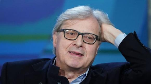 """Live – Non è la D'Urso"", Vittorio Sgarbi sbotta: ""Le mascherine non servono"""