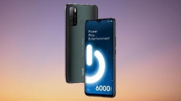 TECNO Spark Power 2: presentato il battery phone per la multimedialità