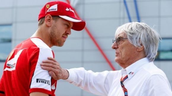 """Bernie Ecclestone sul 2020 di Sebastian Vettel: """"La Ferrari non lo farà vincere"""""""