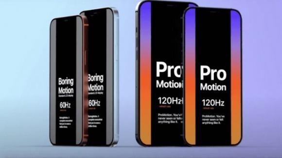 iPhone 12: il display a 120 Hz ci sarà, ma solo per alcune varianti