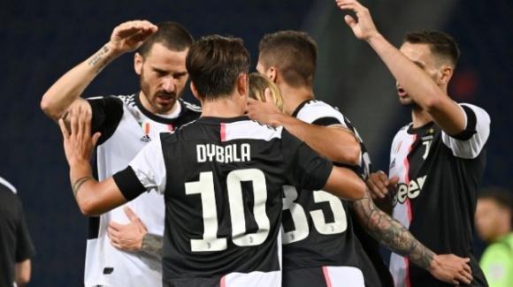 Serie A: vincono Juve e Milan, pari tra Fiorentina e Brescia