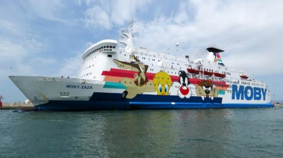 Coronavirus: focolaio sulla nave Moby Zaza, almeno 28 contagi