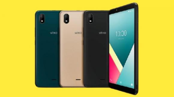 Wiko Y61: ufficiale l'ultralow cost cino-francese con Android 10 Go Edition