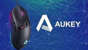 AUKEY GM-F4: mouse da gaming con tasti e illuminazione programmabili