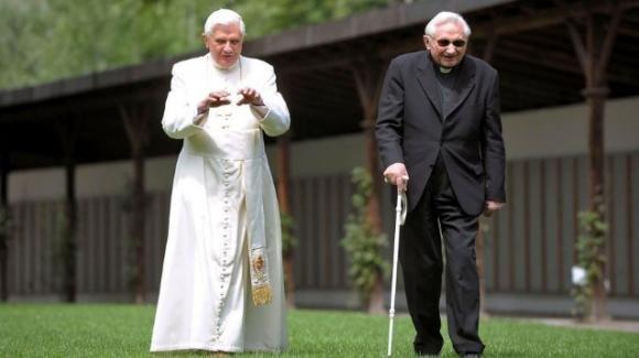 Benedetto XVI in lutto, è morto il fratello Georg Ratzinger